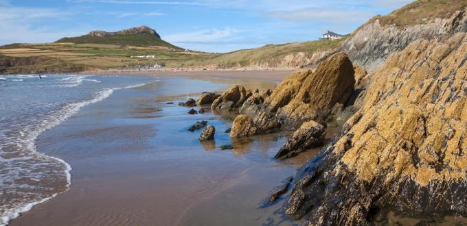 5 best beaches near St Davids Head